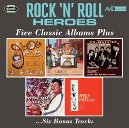 Various Artists: Rock 'N' Roll Heroes - Five Classic Albums Plus (Rock & Roll Hit Parade / Rock & Roll… All Flavors / Well Now, Dig This / Ritchie Valens / Here's Larry Williams) (2CD)