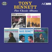 Tony Bennett: Five Classic Albums (Cloud 7 / The Beat Of My Heart / Hometown, My Town / Count Basie Swings, Tony Bennett Sings / In Person) (2CD)
