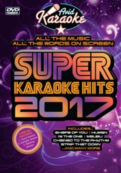 Super Karaoke Hits 2017 (DVD)